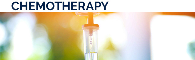 Chemotherapy is the treatment with so-called cytostatics. Cytostatics are cytotoxins that attack rapidly dividing cells in particular, such as tumor cells. MORE
