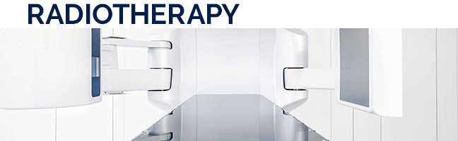 Radiotherapy - along with surgery and chemotherapy - is the third pillar of modern brain tumor therapy. Tumors are kept under control or destroyed by treatment with ionizing radiation. So-called multimodal therapy concepts are often used. MORE